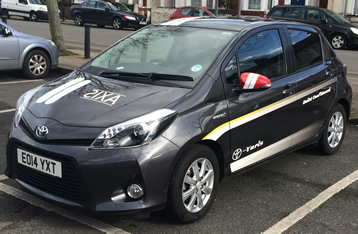 Toyota Yaris Hybrid Axis Driving School