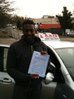 student just passed driving test
